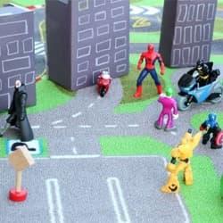 Kids Pretend Play Superhero Town