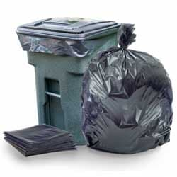 Trash Cans, Bags & Recycling