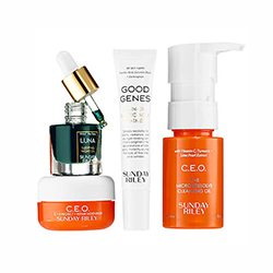 Travel size face products