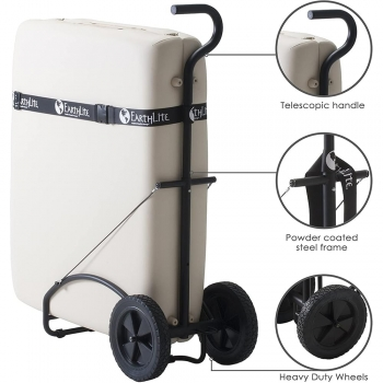 Massage Table Carts with Wheels