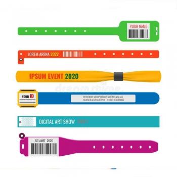 Theme Park Access Wristbands