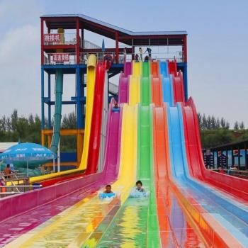 Theme Park Pools Water Slides