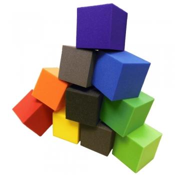 Theme Parks Foam Cubes