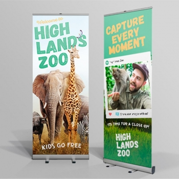 Zoo Signs Banners