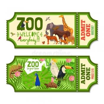 Zoo Ticket Printing