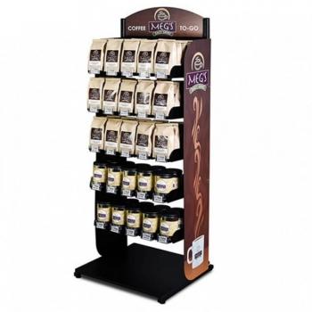Coffee Shop Display Rack