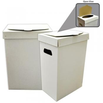 Cardboard Trash Cans