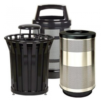 Commercial Industrial Trash Cans