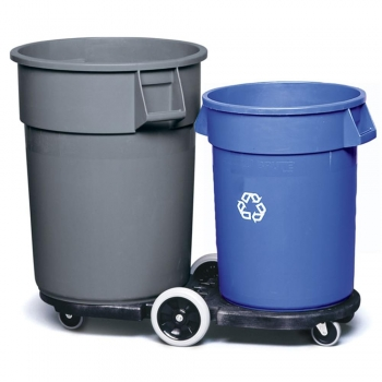 Dolly Sets Trash Cans