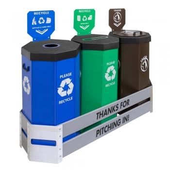 Recycling Trash Cans Bins
