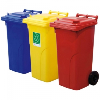 Rollout Wheeled Trash Cans