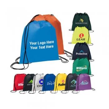 Campaign Drawstrings Backpacks