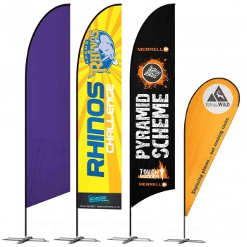 Campaign Feather Flags