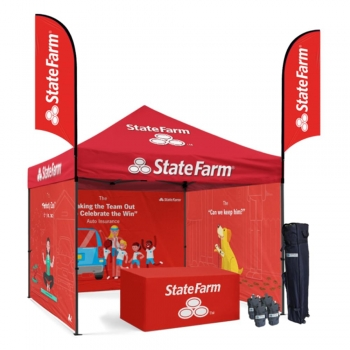 Campaign Tent Stands