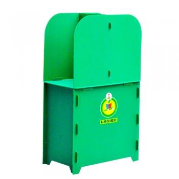 Cardboard Plastic Voting Booth