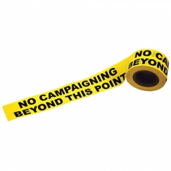"Election ""No Campaigning"" Tape"