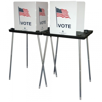 Election Poll Voting Booth