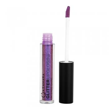 Glittery lip gloss