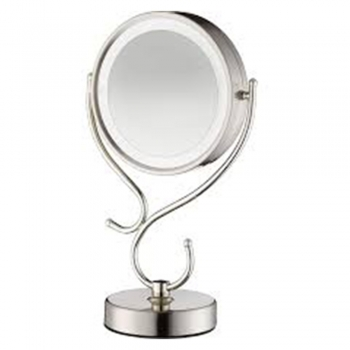 Double-Sided Lighted Makeup Mirrors