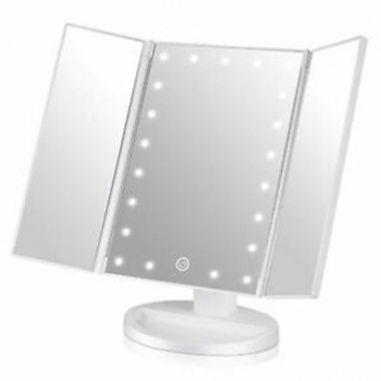Skinny Lighted Mini Vanity Mirror