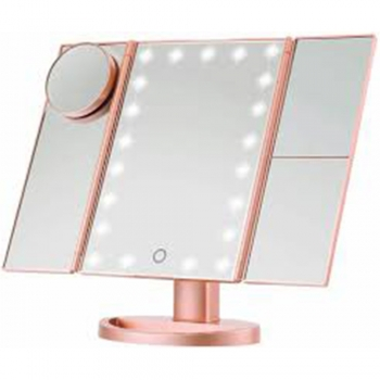 Touchscreen Folding Vanity Mirrors