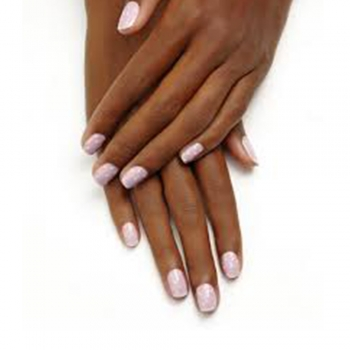 Bridal nail arts