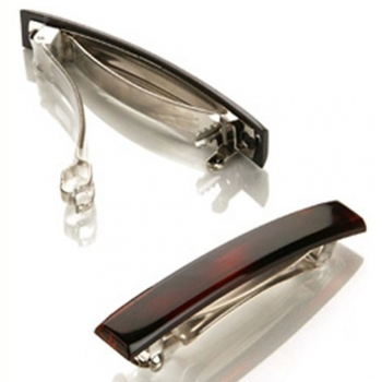 Auto-clasp barrette