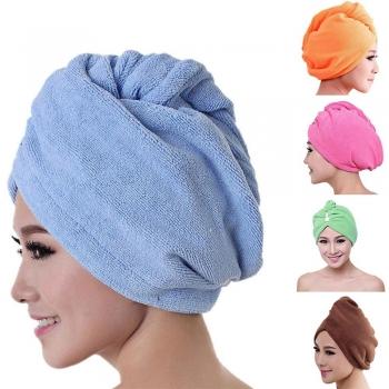Headscarf Shower Cap Fast Drying