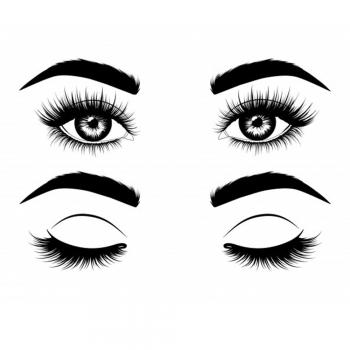 Close Set Eyelashes