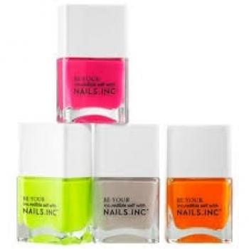 Neon Nail polishes