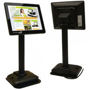 LCD pole displays