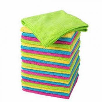 Basics Microfiber Cleaning Cloths