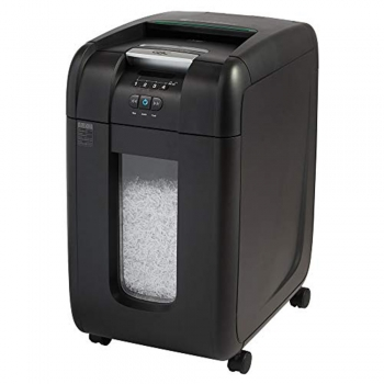 Continuous duty paper shredders