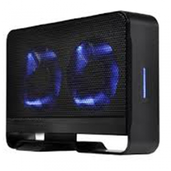 Active cooling hard drive enclosure cases