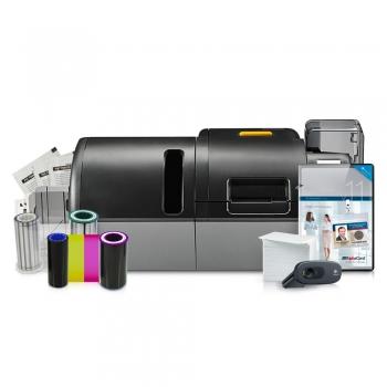 Laminating PVC card printer