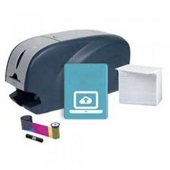 Oversized PVC card printer