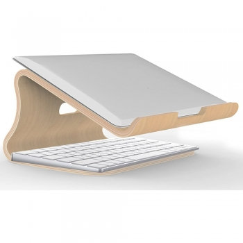 Wooden Laptop & notebook stand