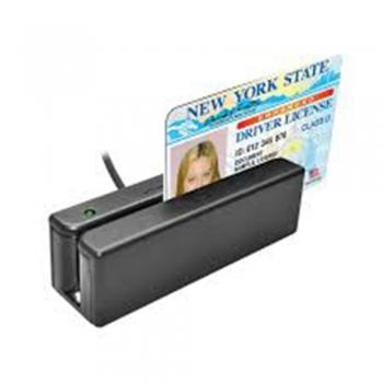 Magnetic swipe card reader