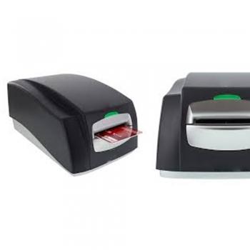 Magnetic stripe encoders.