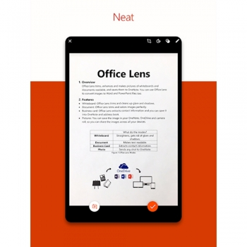 Microsoft Office Lens for Android software's