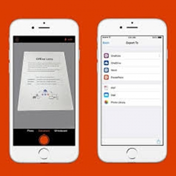 Microsoft Office Lens for iOS software's