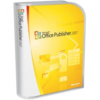 Microsoft Publisher software's