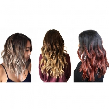 Color-Extending Hair Style