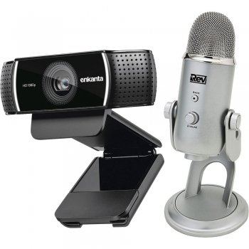 USB microphones and webcams