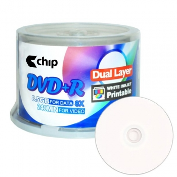 DVD+R DL Blank Storage Media