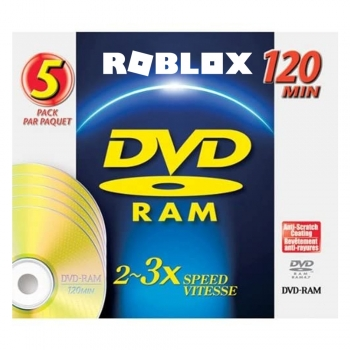 DVD-RAM Blank Storage Media