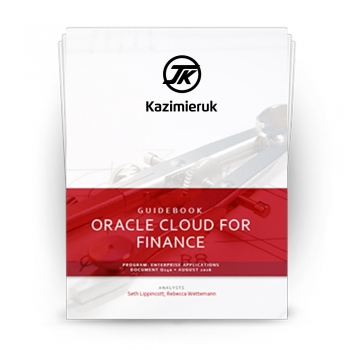 Oracle Business & Finance Software's Cloud