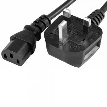 Computer Power Cord (Kettle Plug)