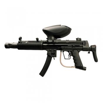 Backup paintball gun marker