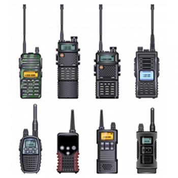 walkie talkies